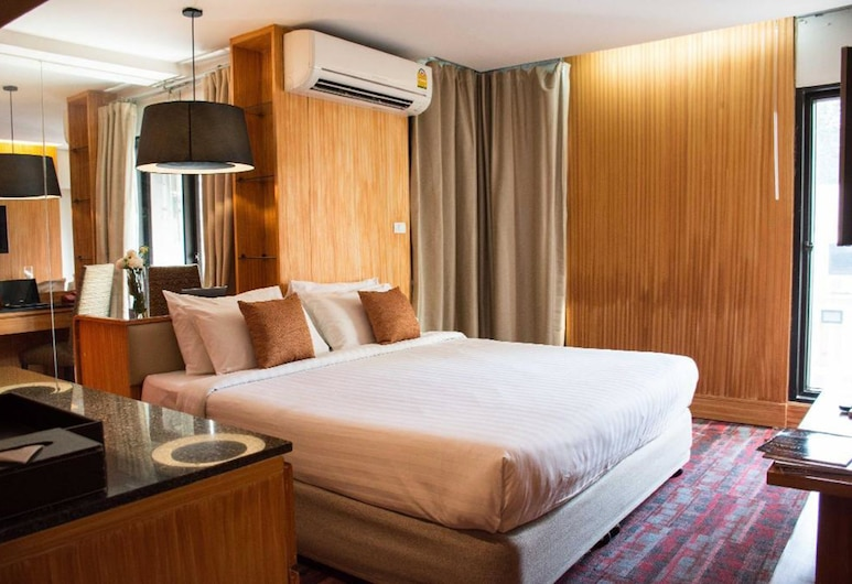 Tango Vibrant Living Hotel, Μπανγκόκ, Deluxe Double, Δωμάτιο επισκεπτών