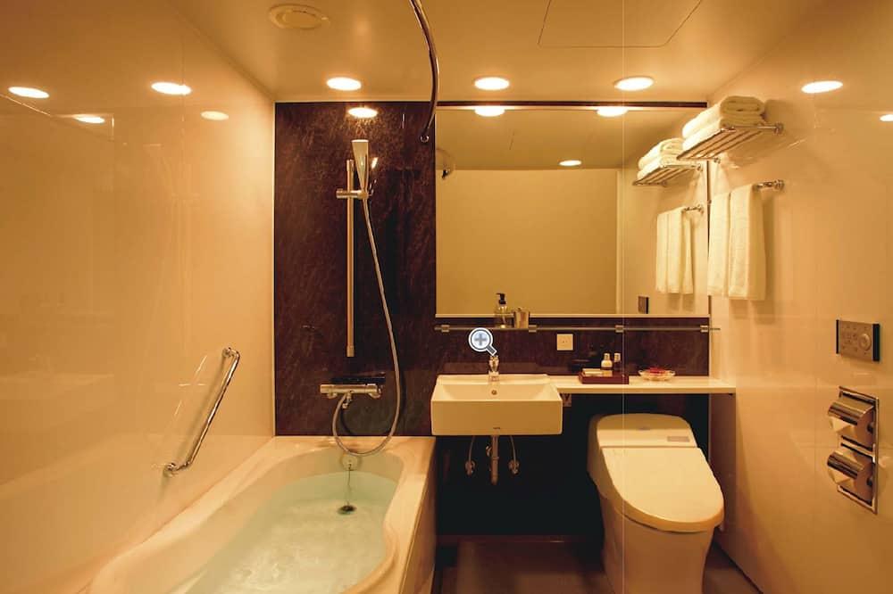 Yhden hengen huone, 1 parisänky - Kylpyhuone
