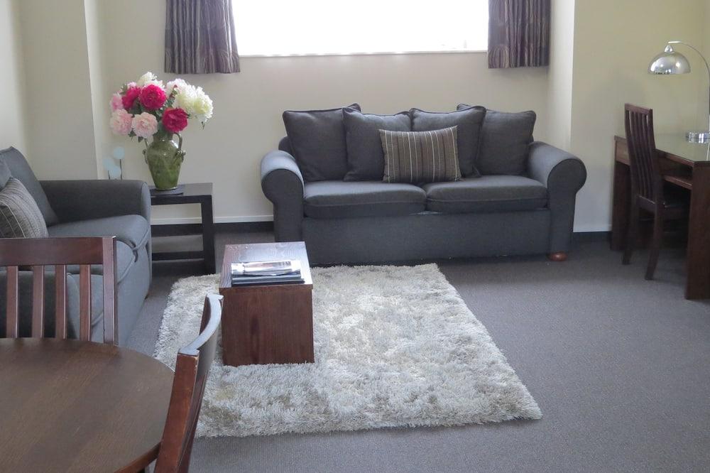Familienapartment, 2Schlafzimmer, Nichtraucher, Küche - Wohnbereich