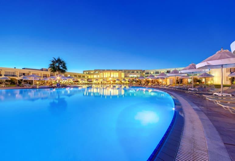 Apollo Blue, Rodosz, Hotel homlokzata - este/éjszaka