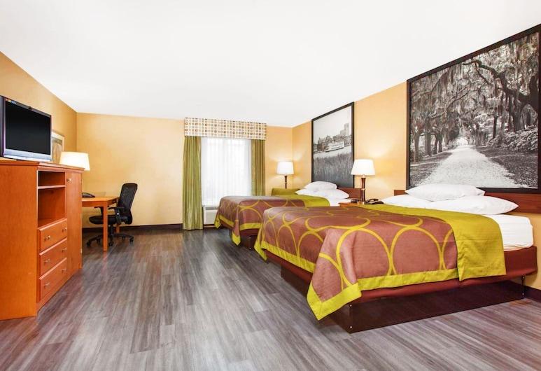 Super 8 by Wyndham Savannah, Savannah, Pokój, 2 łóżka queen, przystosowanie dla niepełnosprawnych, dla niepalących (Mobility Accessible), Pokój