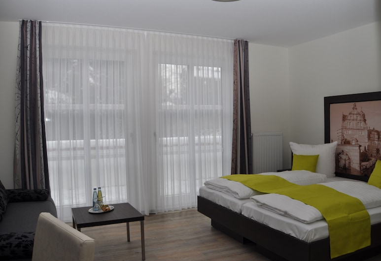Schaumburger Ritter Hotel & Restaurant, Rinteln, Comfort Double Room with Shower, Oda