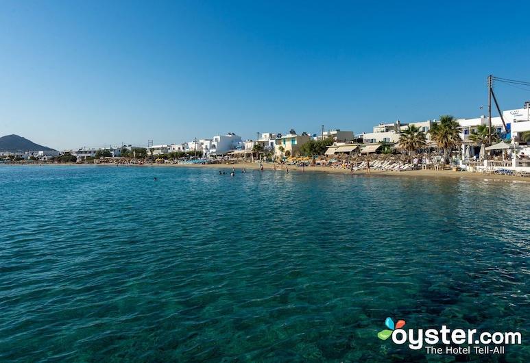 Iria Beach art hotel, Naxos, Pláž