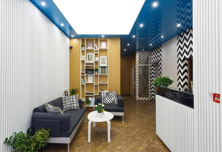 Dunav Apartment House, Sofia, Lobby