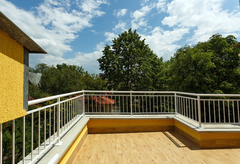 Dunav Apartment House, Sofya, Teras/Veranda
