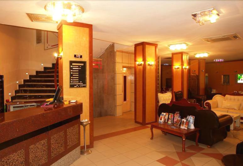 Turvan Hotel, Istanbul, Resepsjon