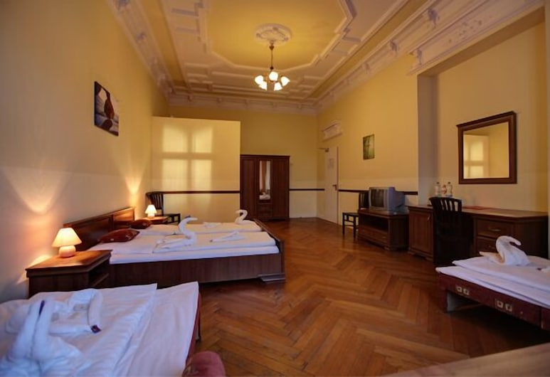 Hotel-Pension Bernstein, Berlin, Familienzimmer, Zimmer