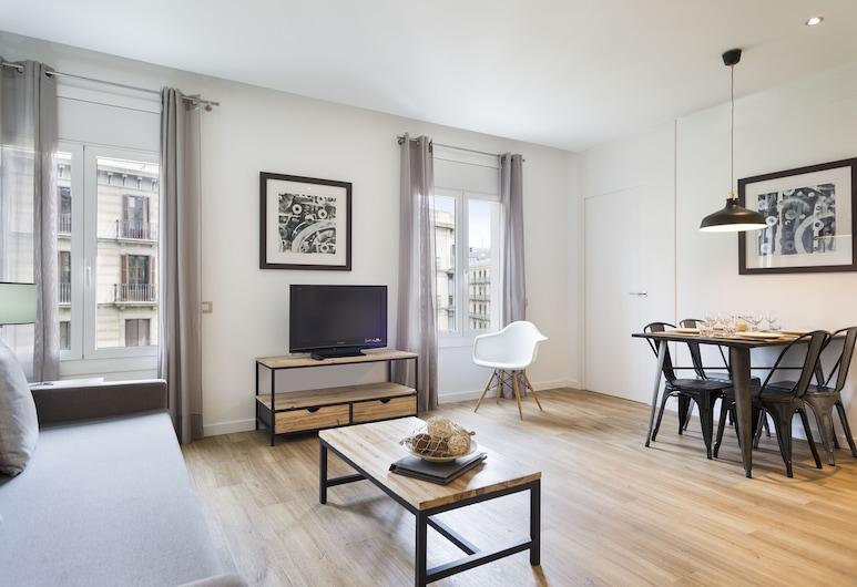 阿米斯特公寓, 巴塞隆拿, 公寓, 1 間臥室 (for 3 people), 客廳