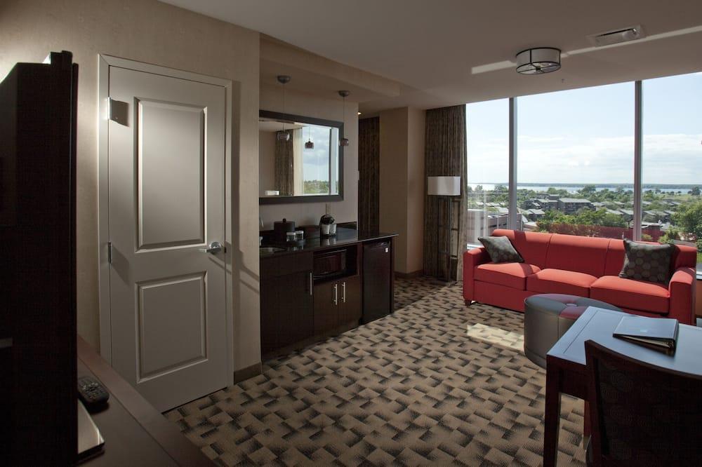 Executive Suite, 1 Katil Raja (King) dengan Katil Sofa, Corner - Ruang Tamu