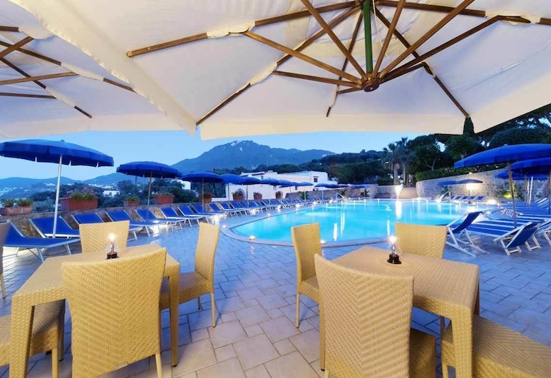 Albergo Terme San Lorenzo, Forio, Outdoor Pool