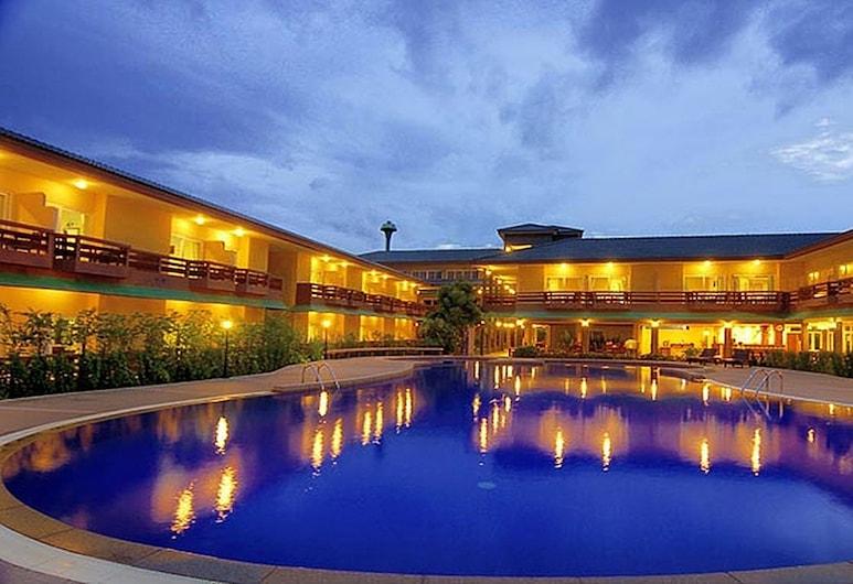 Bacchus Home Resort, Pranburi, Veranda