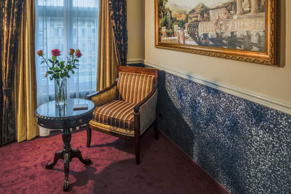 Izba typu Premium (Single Use) - Obývacie priestory