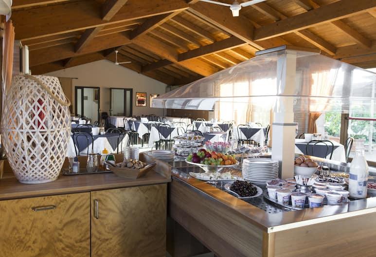 Hotel Il Giardino, Siena, Sala colazione