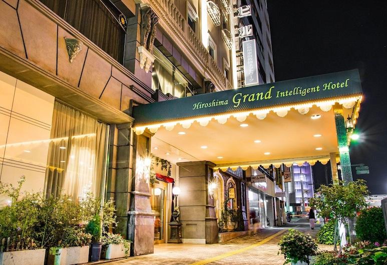 廣島格蘭智慧酒店 , 廣島, 酒店入口 - 夜景
