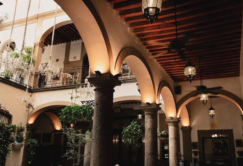 Casa Pedro Loza, Guadalajara, Terraza o patio