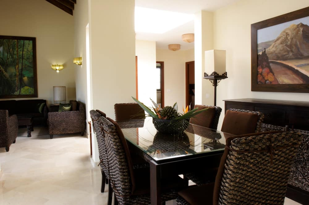 Villa, 3 hálószobával (Elegance) - Nappali rész