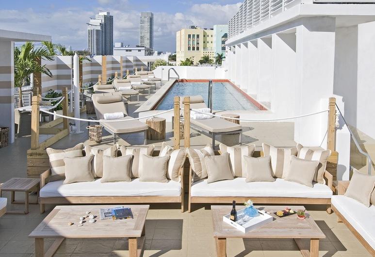 The Local House, Miami Beach, Takterrasspool