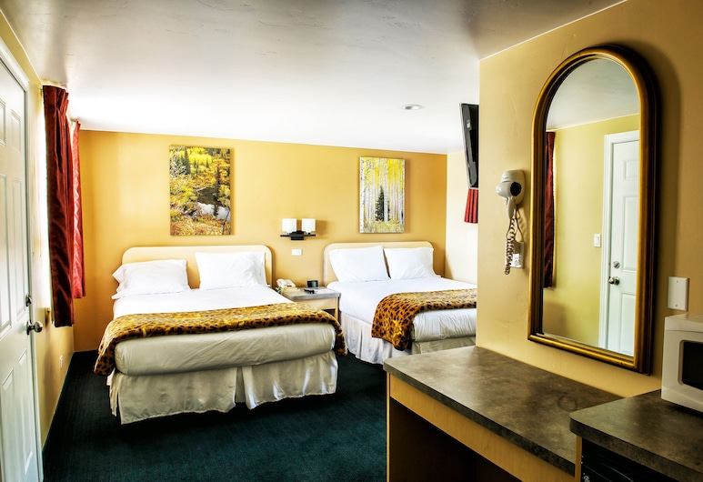 Glenwood Springs Inn, Glenwood Springs, Standard Room, 2 Queen Beds, Guest Room
