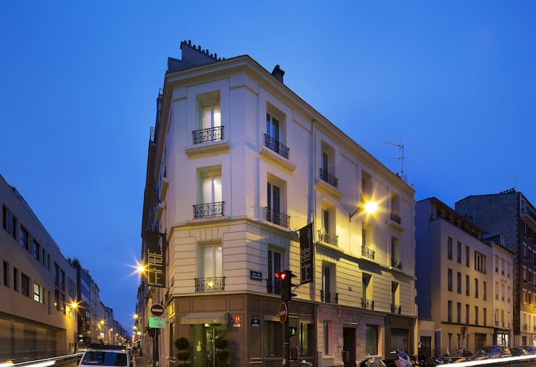 Le Fabe Hotel, Paris, Hotel Front – Evening/Night