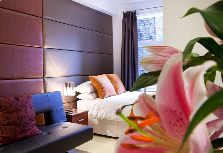 羅塞爾廣場貝爾酒店, 倫敦, 家庭三人房, 獨立浴室, 客房