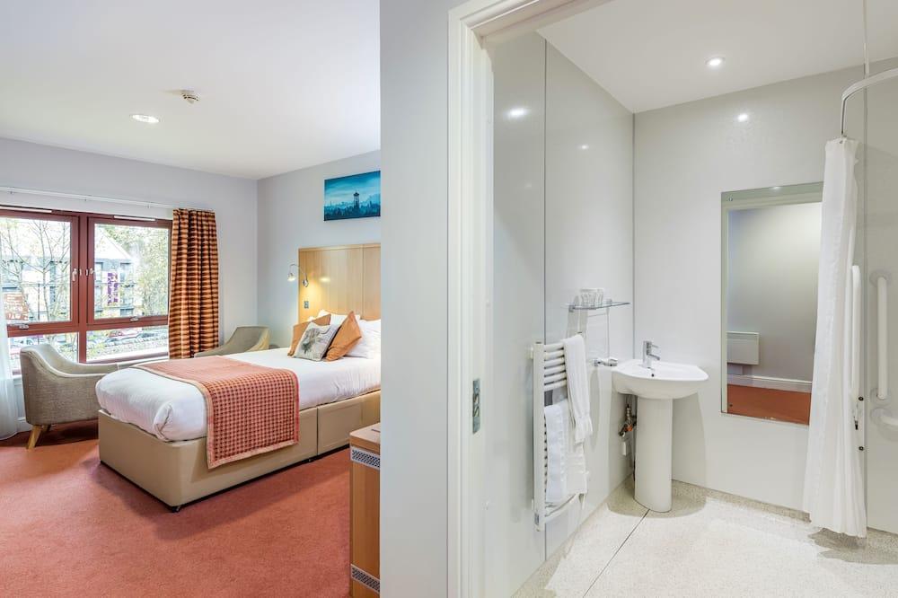 Двомісний номер, суміжна ванна кімната (Wheelchair Access) - Ванна кімната