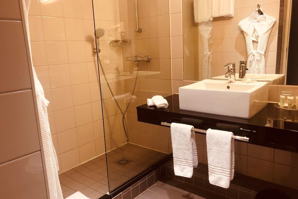 スーペリア ルーム シングルベッド 2 台 禁煙 - バスルーム