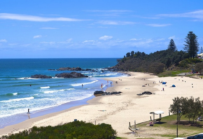 Flynns Beach Resort, Port Macquarie, Pláž