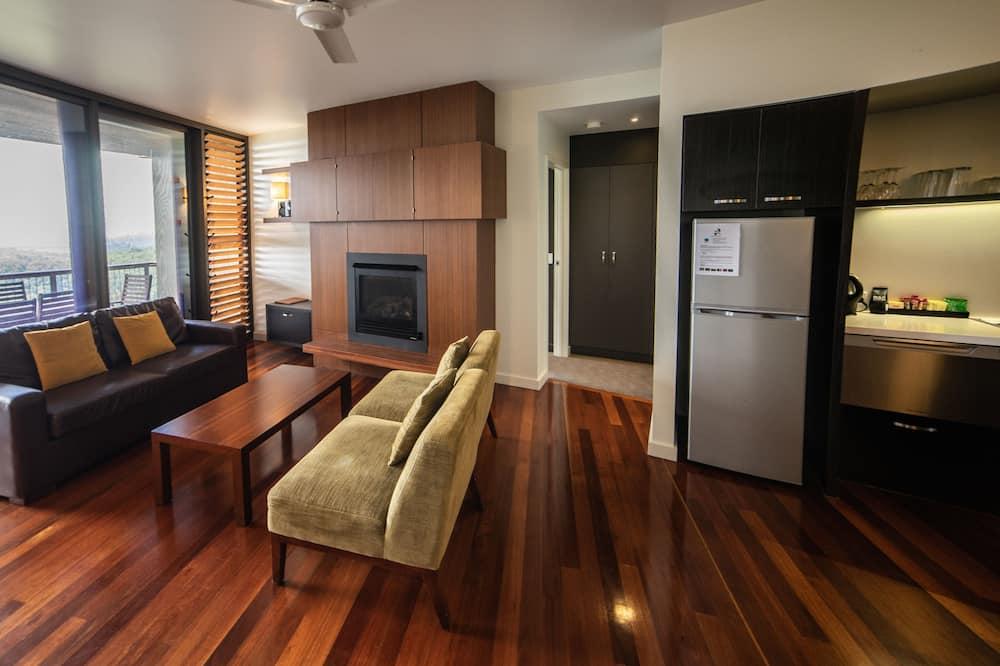 Standaard appartement, Meerdere slaapkamers, niet-roken, keuken (Sky Lodge 3 bed apartment) - Woonruimte