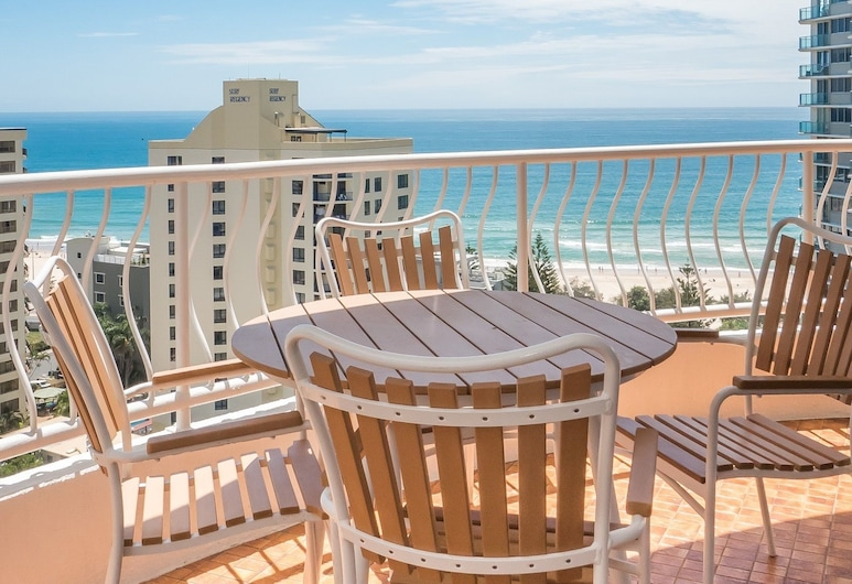 Aegean Apartments, Surfers Paradise, Apartment, 2 Bedrooms, Ocean View, Balcony