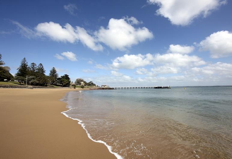 ذا وايفز أبارتمنتس, كاوز, الشاطئ