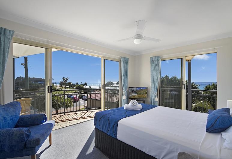 Golden Riviera Beach Resort, Tugun, Superior Apartment, 2 Bedrooms, View from room