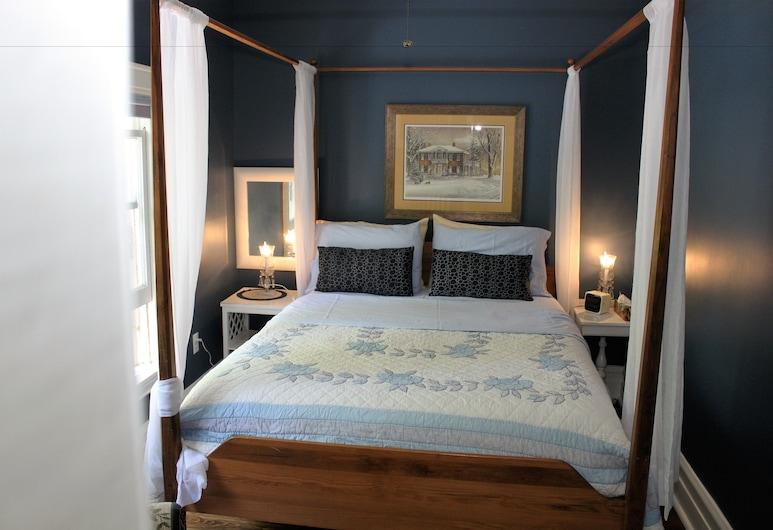 Green Oaks Bed and Breakfast, Niagara-on-the-Lake, Kambarys, 1 didelė dvigulė lova, atskiras vonios kambarys, Svečių kambarys
