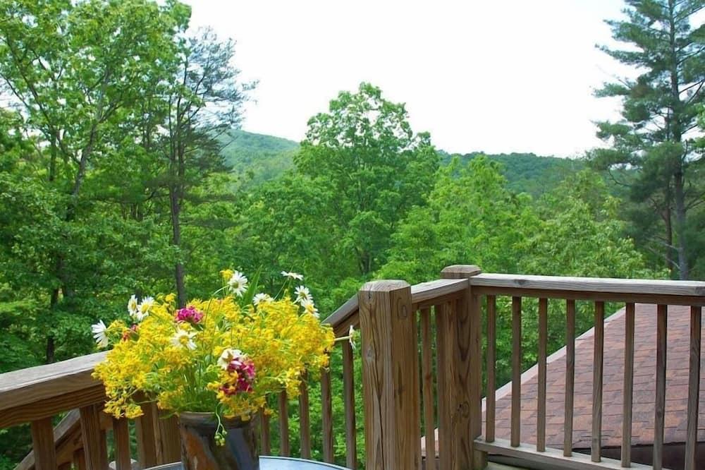 Dvojlôžková izba typu Premier, vlastná kúpeľňa, výhľad na hory (Whissenhunt Mountain Ste) - Výhľad z balkóna