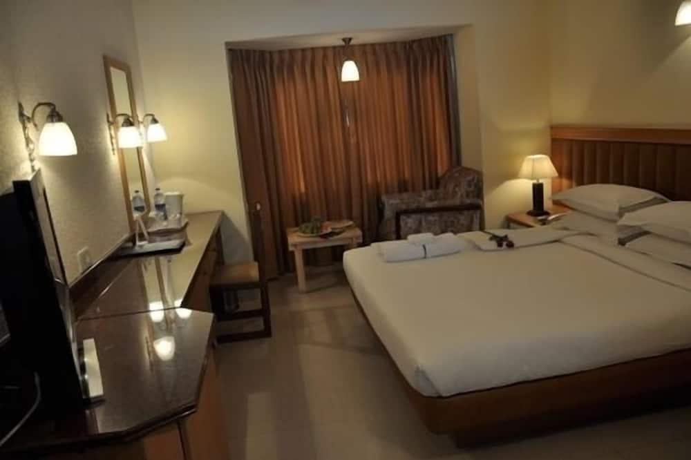 Liukso klasės kambarys, 1 standartinė dvigulė lova - Svetainės zona