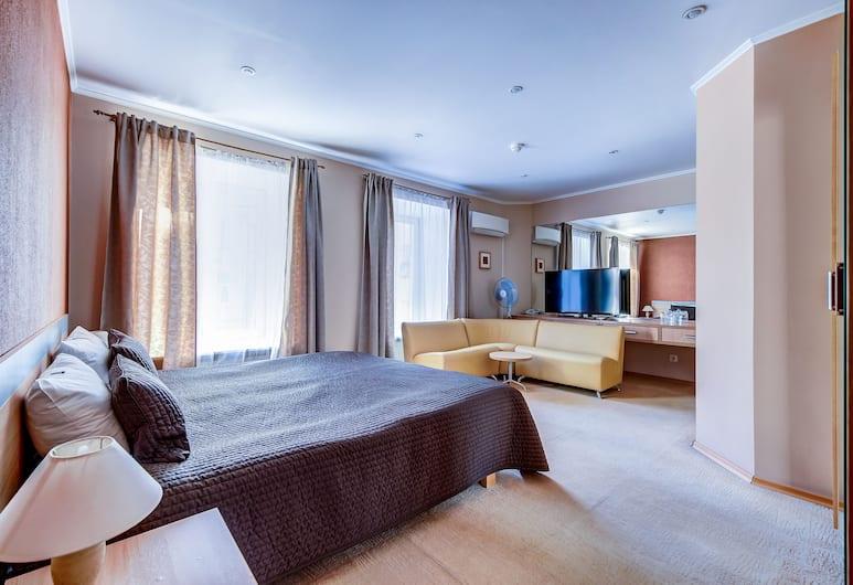 Мини-отель «Поликофф», Санкт-Петербург, Двухместный номер «Делюкс» с 1 или 2 кроватями, Номер