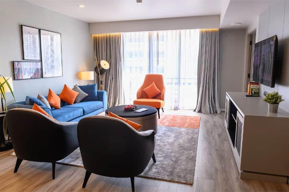 Deluxe kamer, 3 slaapkamers - Woonruimte