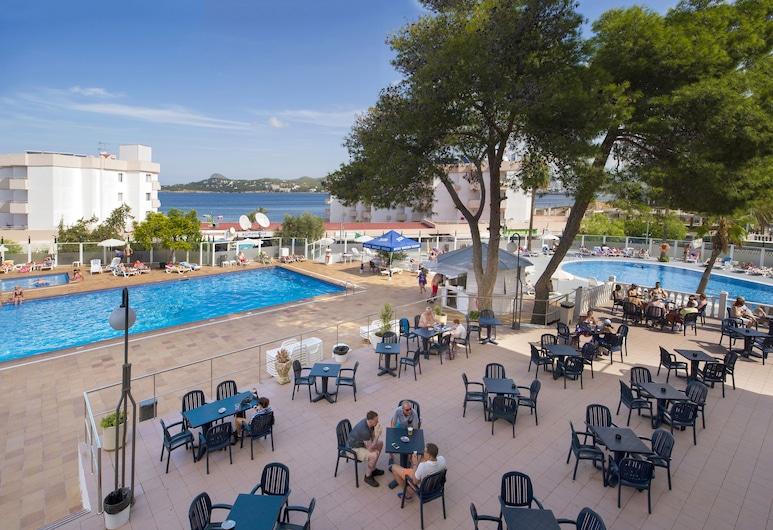 里維埃拉酒店, 桑特霍塞普德薩塔萊阿, 門廊