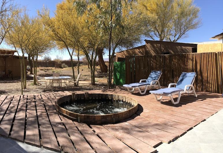 Sami Atacama Lodge, San Pedro de Atacama, Wanna spa na zewnątrz