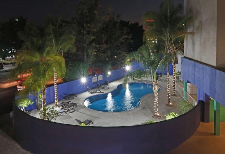 瓜達拉哈拉博覽會駐橋套房酒店, 薩波潘, 室外泳池