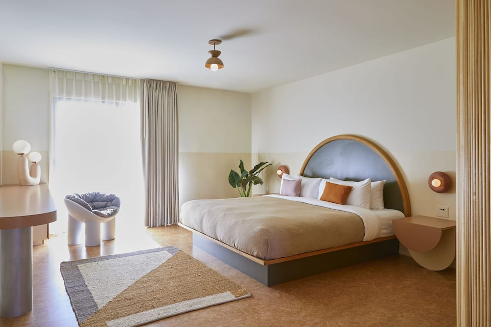 Phòng Premium, 1 giường cỡ king, Sân hiên (Pet Friendly) - Ảnh nổi bật