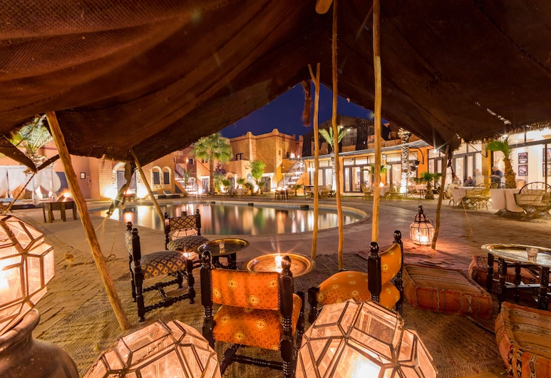 Oscar Hotel by Atlas Studios, Ouarzazate, Terase/iekšējais pagalms