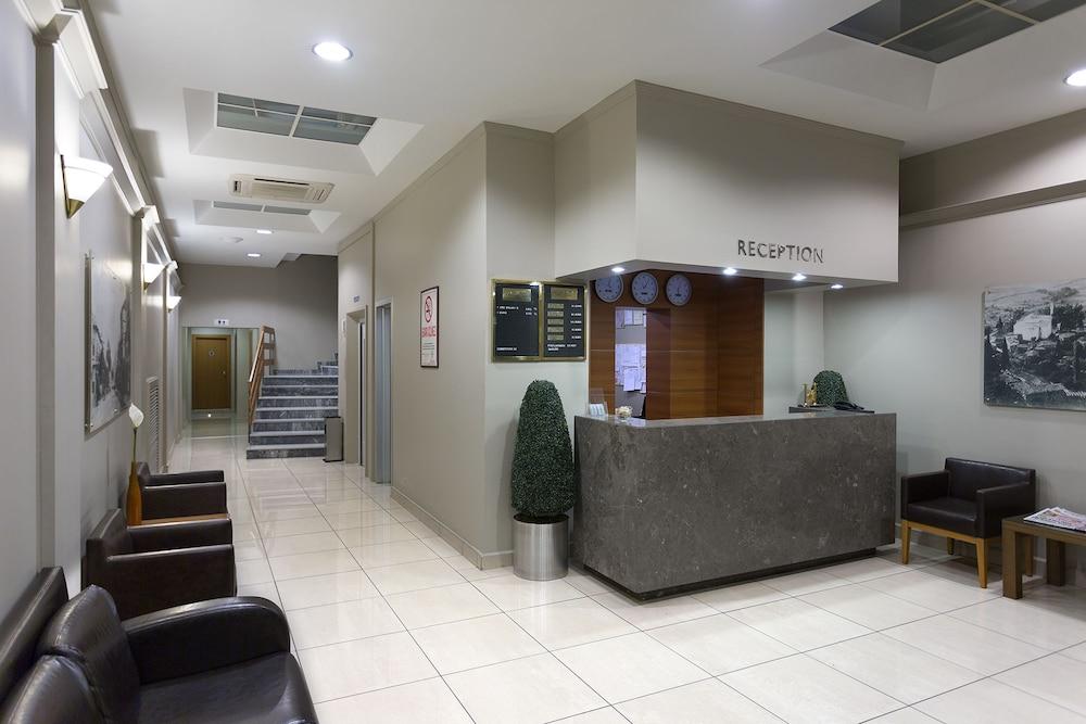 Kent Hotel Bursa Interior Entrance
