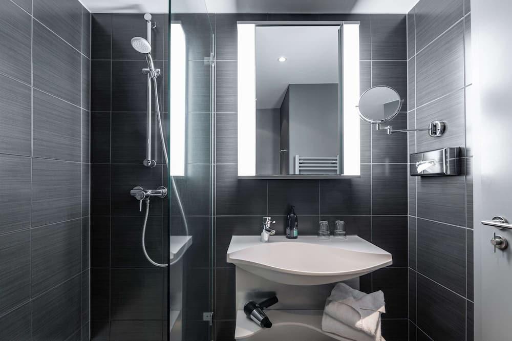 Студія, 1 двоспальне ліжко - Ванна кімната