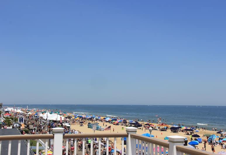 Safari Motel Boardwalk, Ocean City, Blick vom Hotel