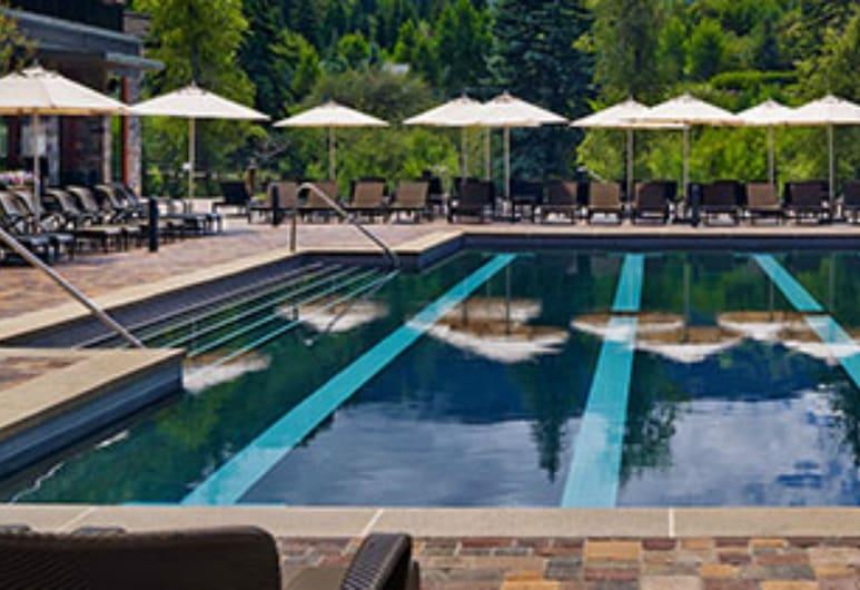 威斯汀河狸溪山河濱山區別墅酒店, 艾芳, 室外泳池