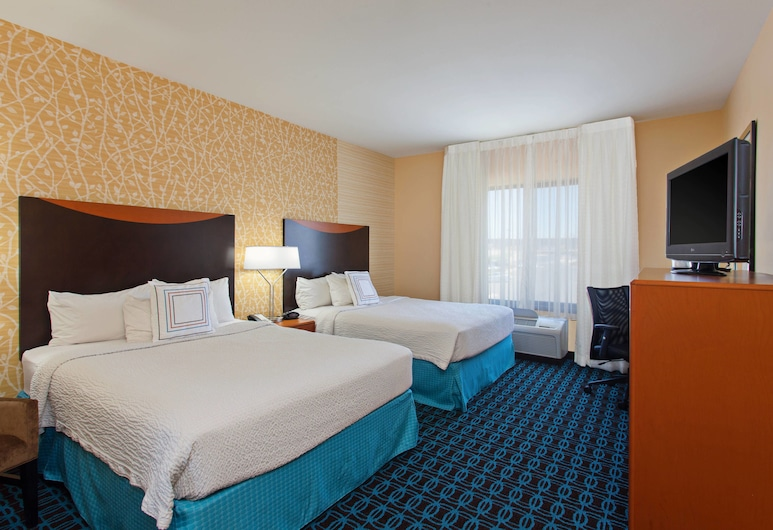Fairfield Inn & Suites by Marriott El Paso, El Paso, Quarto, 2 camas queen-size, Quarto