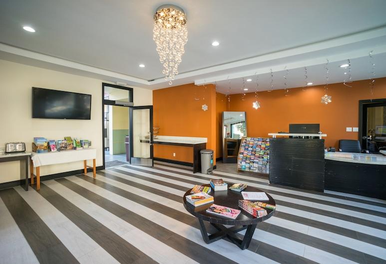 Motel Capri, San Francisco, Interior Entrance