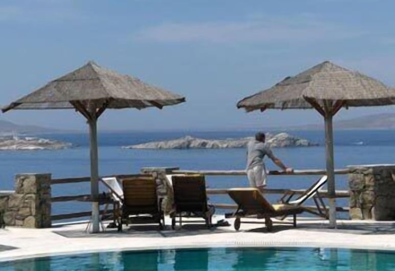 Gorgona Hotel, Mykonos, Outdoor Pool