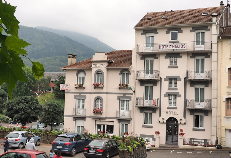Hotel Helios, Lourdes, Otelin Önü