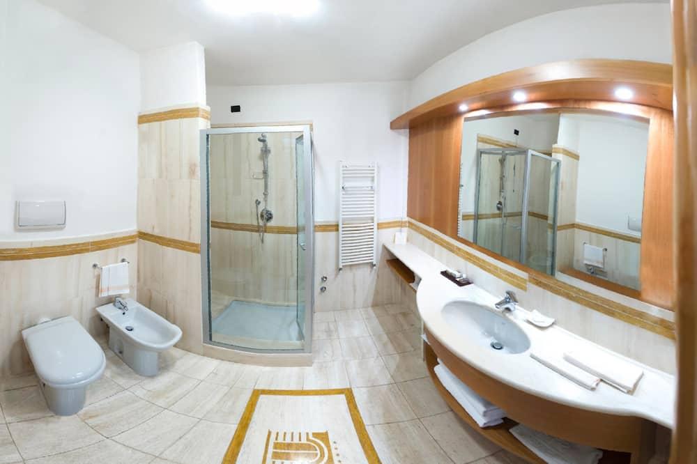 高級單人房, 1 張單人床 - 浴室